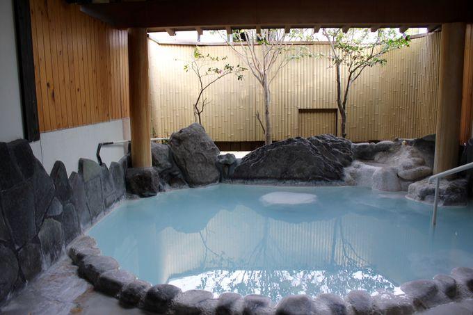 部屋付きの露天風呂も