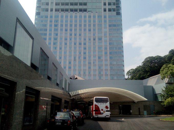 風光明媚な瀬戸内海の景色が目の前、リゾート感覚溢れるホテル。