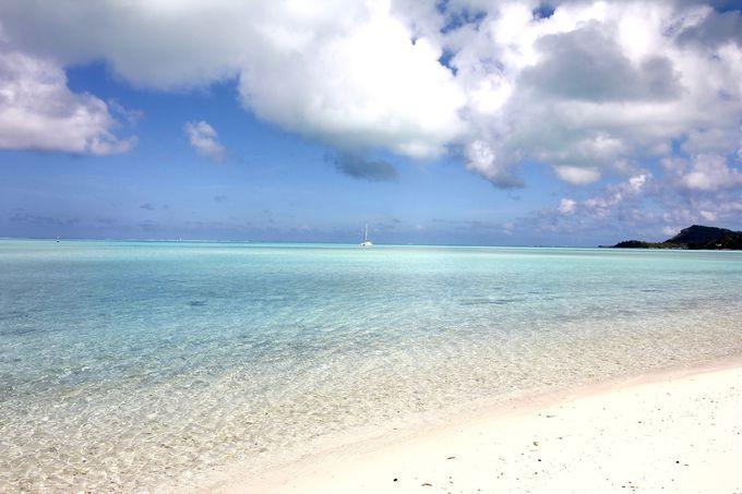 タヒチで一番美しいと言われるビーチの真向かい、インターコンチネンタル ル・モアナリゾート