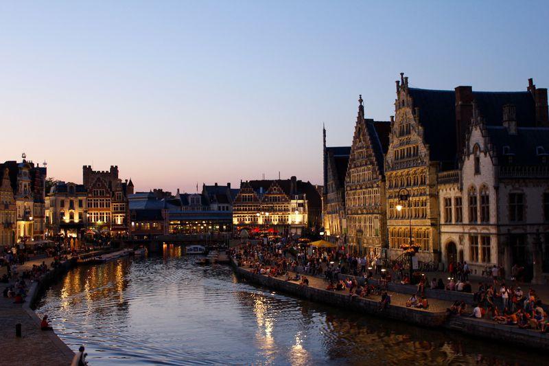 街歩きが楽しいベルギーの古都「ゲント」おすすめお散歩コース