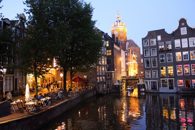アムステルダム中央駅界隈のおすすめポイント