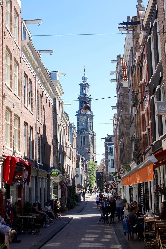 アムステルダム中央駅の西側、おしゃれなエリアのポイント