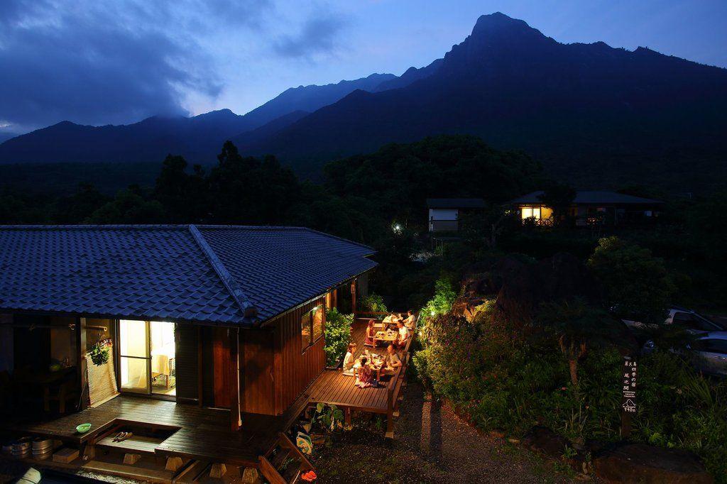 モッチョム岳を見ながらリラックス