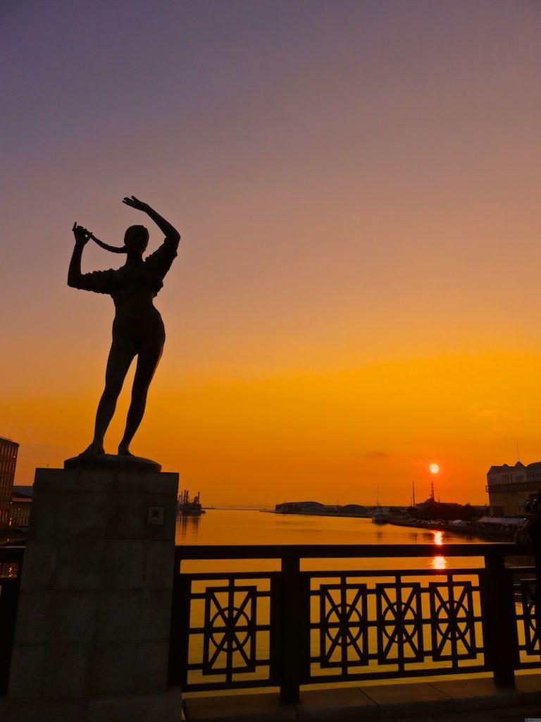 世界を旅する船乗りの口コミで広がった釧路の夕日