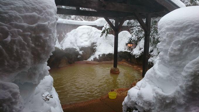 泉質バツグン!自然の中の露天風呂