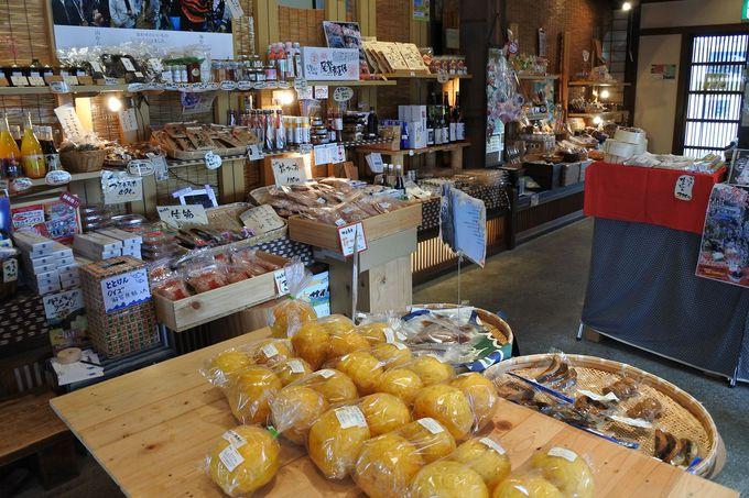 尾鷲市の食材や特産品がずらりと揃う土産処も!