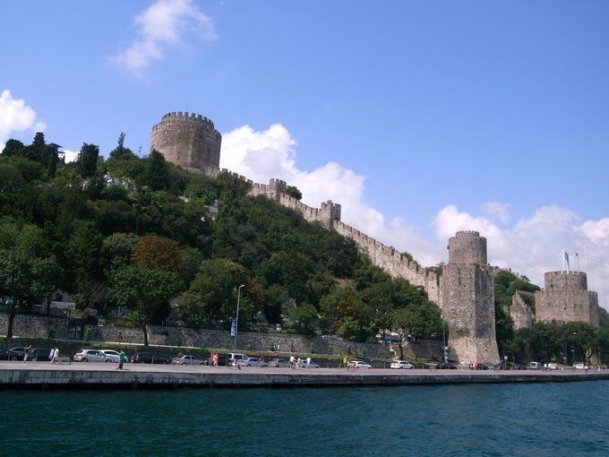 コンスタンティノープル陥落のきっかけとなった城塞、ルメリ・ヒサル