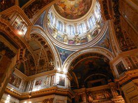息をのむ荘厳美!サンクトペテルブルグの聖堂