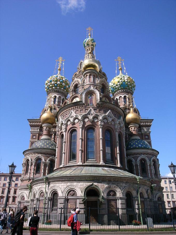 2.カザン聖堂/血の上の聖主教会/イサク聖堂(サンクトペテルブルグ)