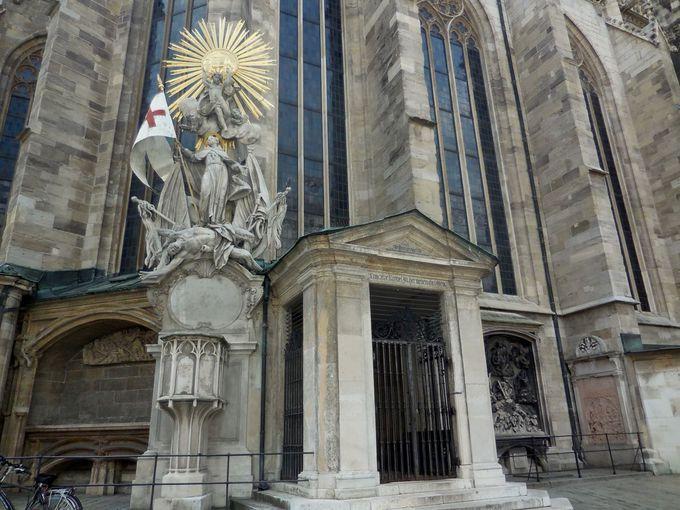 モーツァルトの葬儀が行われた教会〜シュテファン大聖堂