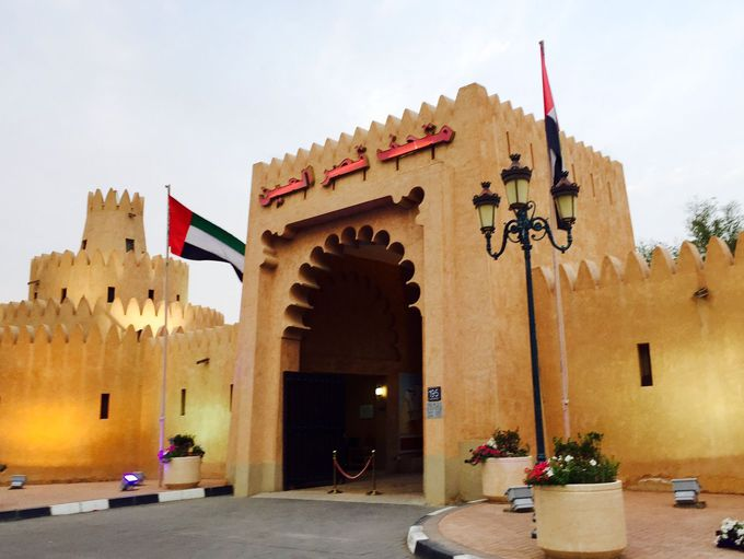 建国の父シェイクザイードの邸宅を改築 アルアインパレス博物館