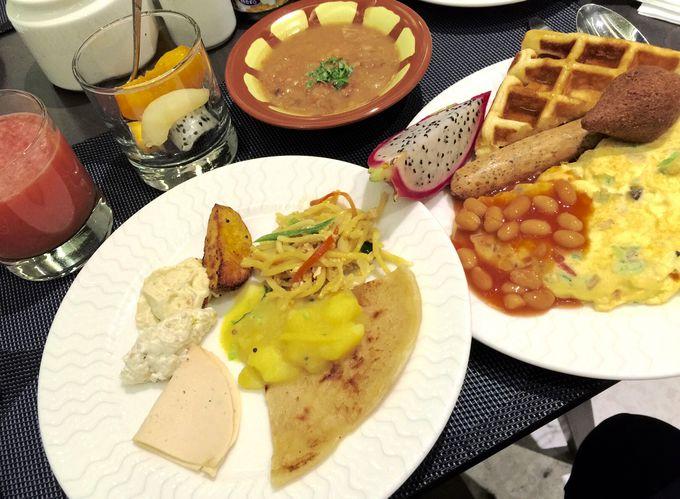 絶品の朝食ビュッフェで一日をスタート