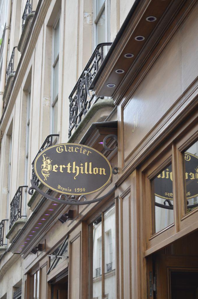 パリで食べなきゃ勿体無い!有名な老舗アイスクリーム!