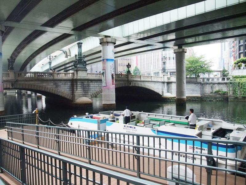 銀ブラ&日本橋クルージング! 「中央通り」に沿って、お手軽コースの東京観光。