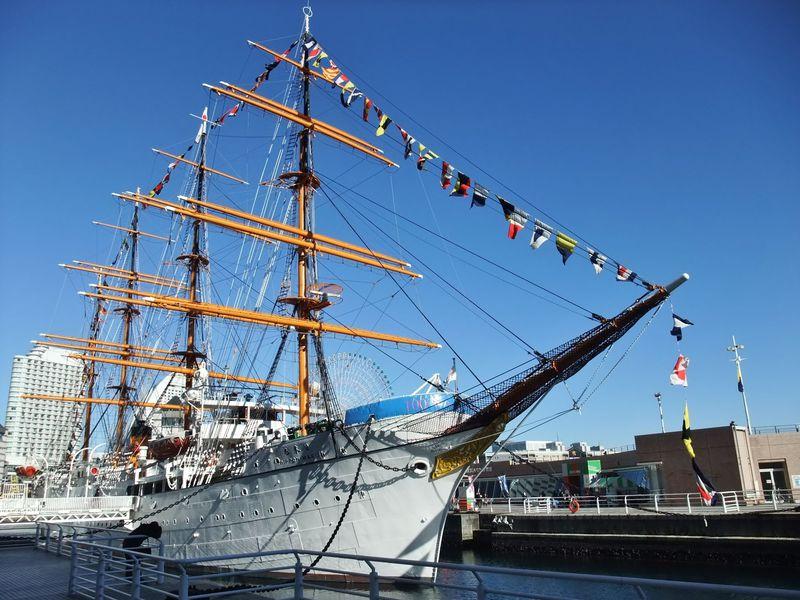 心地良い潮風を受けて。港町・横浜で、船の博物館めぐり!