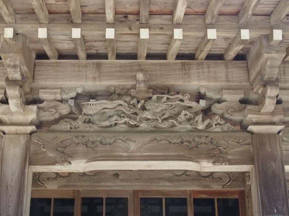 安房の名工の技が光る「勝善寺」