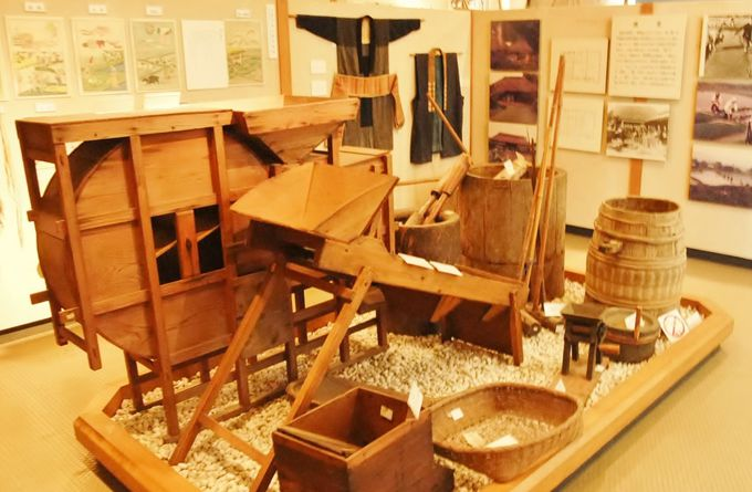 使ってみたい?!色々な道具であふれる鴨川郷土資料館