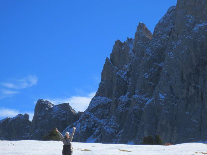 壮大な風景に抱かれて!美味しい山上ランチ!