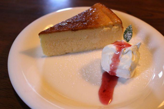 「Cafe'饗茶庵」でスイーツは欠かせない!