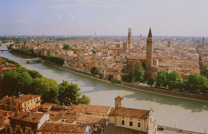 美しき古都ヴェローナ