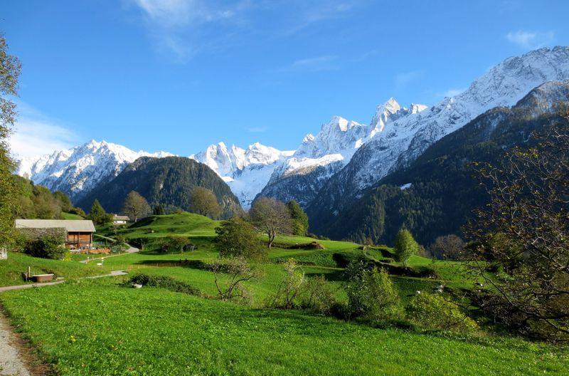 スイス美しき秘境「ソーリオ」芸術家たちが愛した絶景と魅力