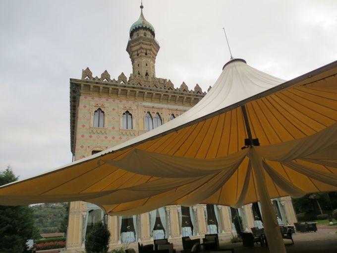 豪華絢爛の宮殿ホテル「ホテル ヴィラ・クレスピ」は、ルレ・エ・シャトー加盟!