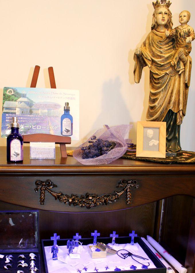 フランスからはプロヴァンス・セナンク修道院のラベンダー製品!