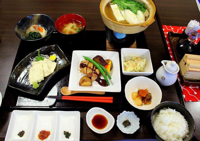 絶品湯豆腐と、栃木&日光の誇る味がテンコ盛りの『縁』ランチ!