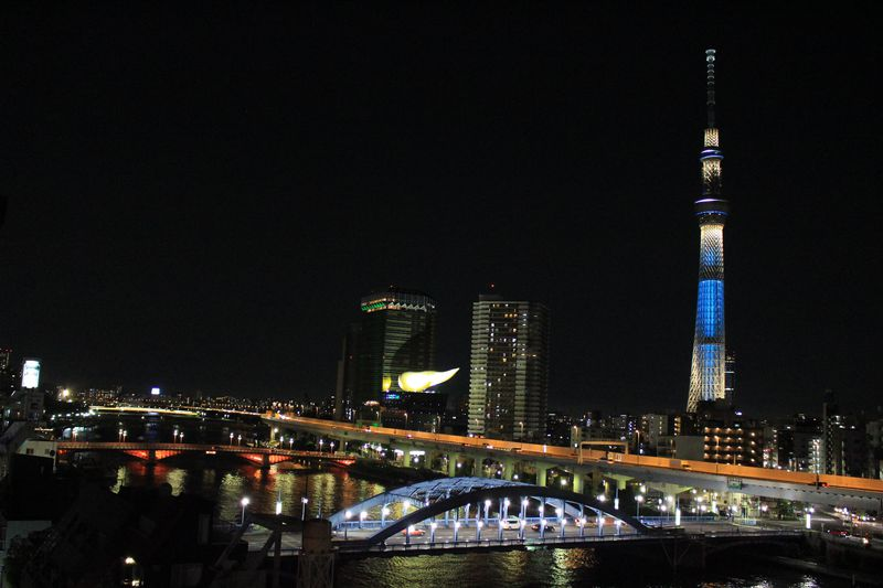 スカイツリー&隅田川の絶景夜景!「浅草ホテル旅籠」は浅草駅徒歩2分の和情緒たっぷり暖かホテル。