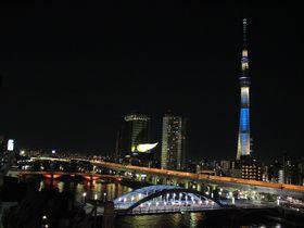 スカイツリー&隅田川の絶景夜景!「浅草ホテル旅籠」は浅草駅徒歩2分の和情緒たっぷり暖かホテル。|東京都|トラベルjp<たびねす>
