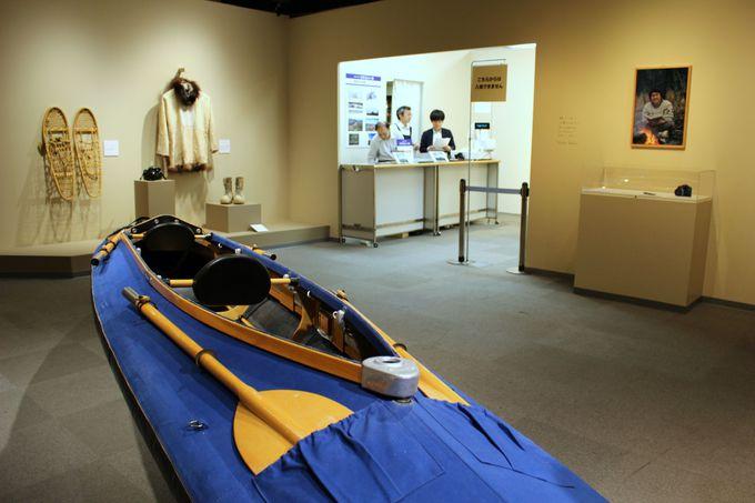 アラスカでの撮影に使われた道具の数々