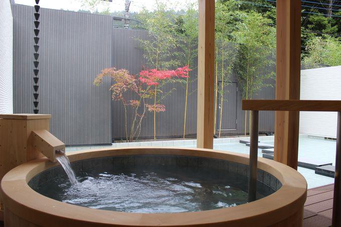 「奥の院 ほてる とく川」が誇る<吟龍水>の露天風呂!