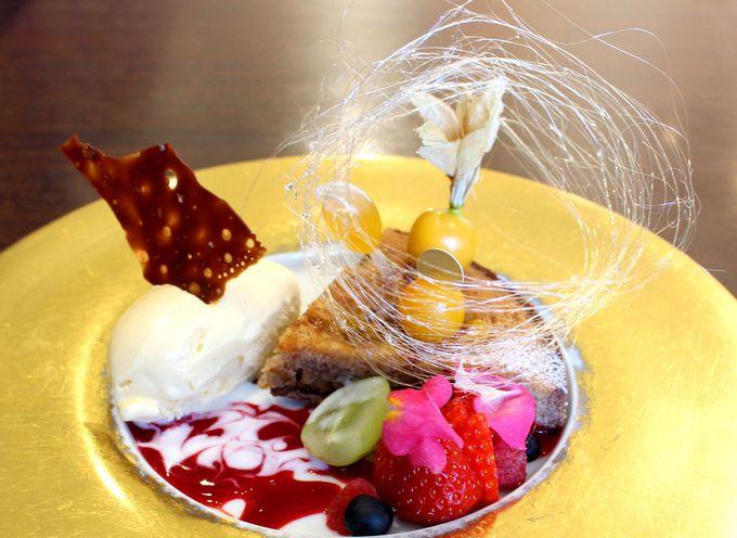 インスタジェニックな美しきデセール「お皿盛りドルチェ」!