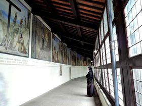 聖地巡礼・伊「ヴェルナ修道院」聖フランチェスコが聖痕を受けたトスカーナの秘境Verna山へ