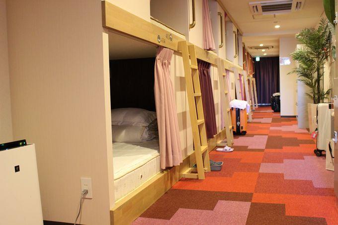 「センチュリオンレディースホステル上野公園」のキャビンは安心・快適・格安!