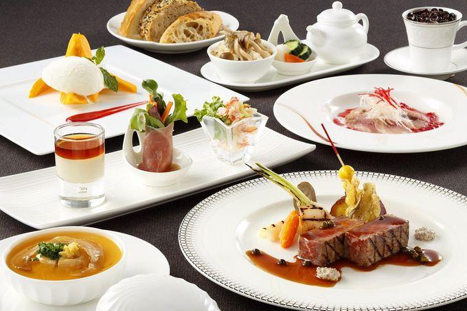 お楽しみのディナーは和テイストの創作フレンチ