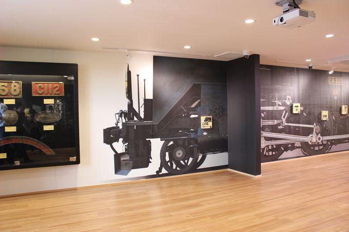 展示館・SL「大樹」をじっくり撮影できる転車台も必見!