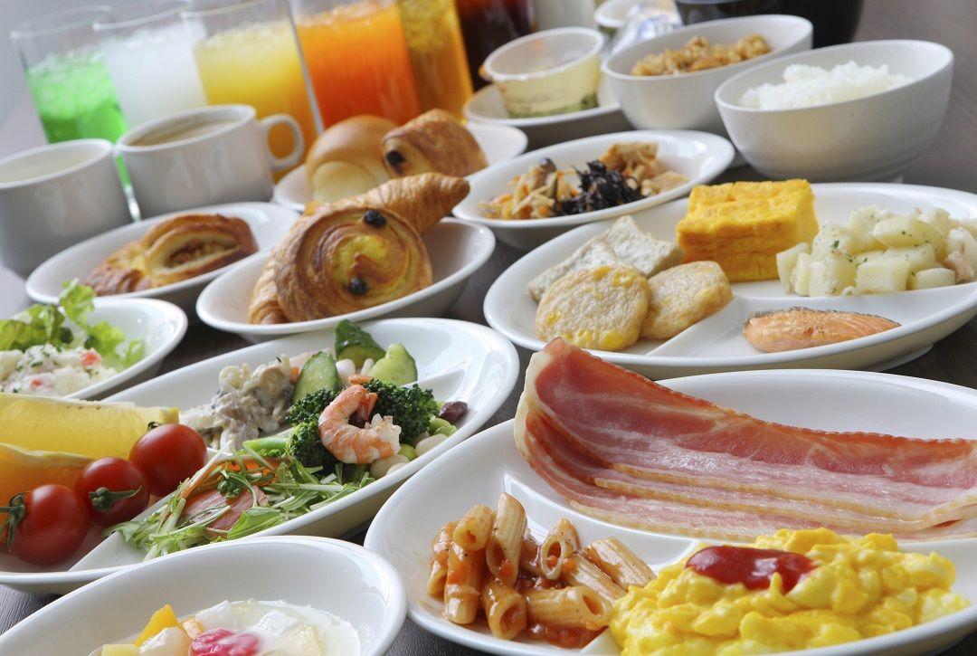 ビュッフェ・洋食・和食・etc・・・選択の幅が広い朝食も魅力