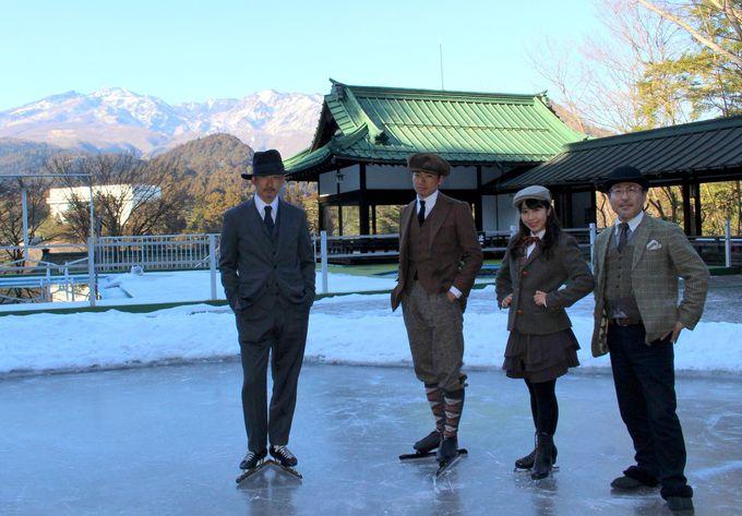 「クラシックスケートin日光」日光金谷ホテルでレトロお洒落なスケート&グルメを!