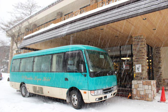 バス代を大幅節約!雪道でも安心な送迎が嬉しい。