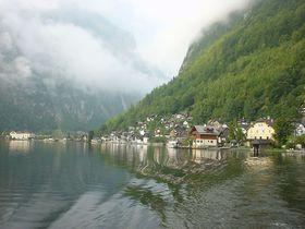 世界遺産の岩塩坑で絶叫ツアー!ハルシュタットは世界一美しい湖畔の町