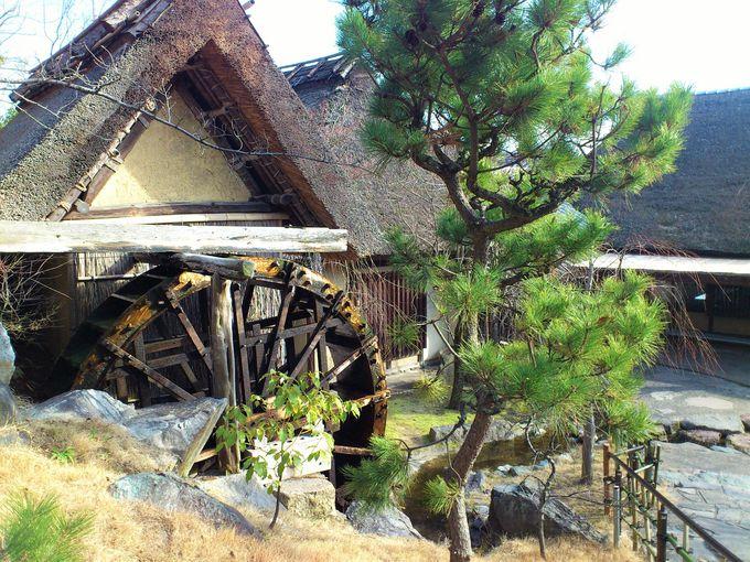 江戸時代の古民家でうどんが食べられる「わら家」