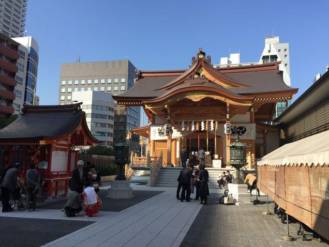 安産の御利益あり、人形町「東京水天宮」