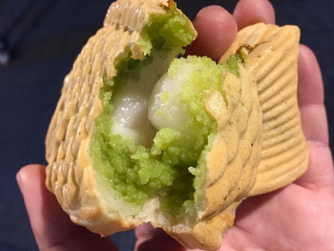 4.ずんだ餅たい焼き(鯛きち)