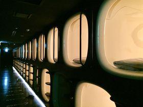 まるで宇宙船!仙台で話題のカプセルホテル「ナインアワーズ仙台」
