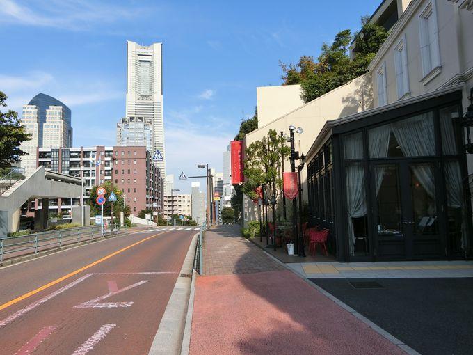 かつての横浜ベイサイド。レトロな風情を現代に残す風景