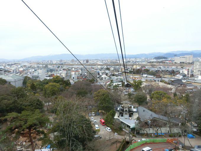 日本一キツい勾配!どのコースで頂上を目指すかはあなた次第