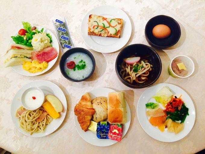 和と洋のこだわりの朝食