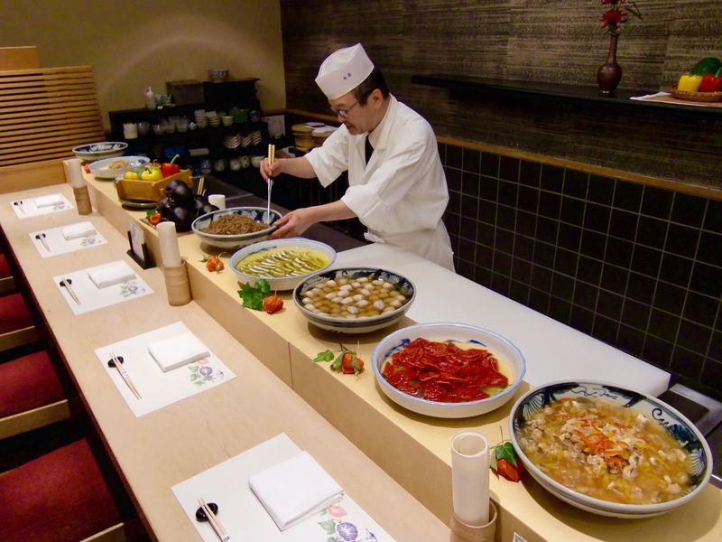 やっぱり食べたい京都の味!京都センチュリーホテル「嵐亭」のおばんざいセット