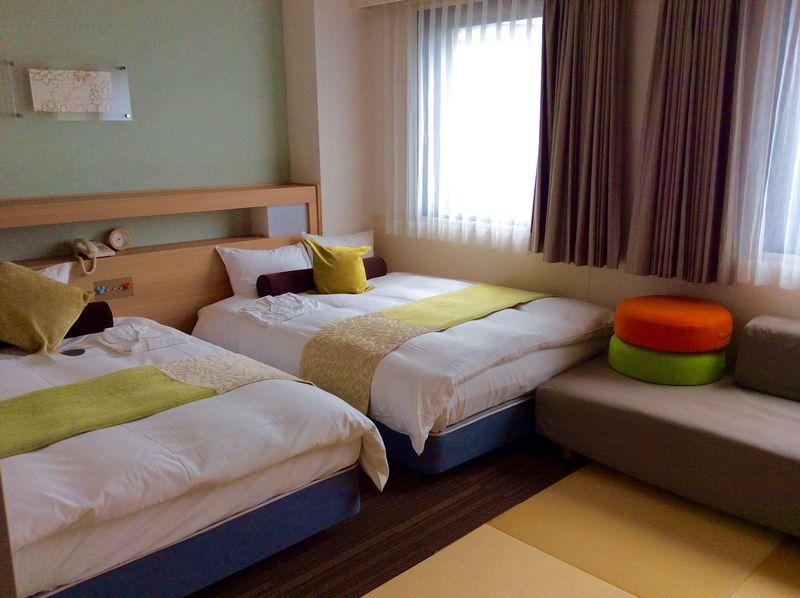赤ちゃん連れに安心のお部屋も!「新大阪ステーションホテルアネックス」